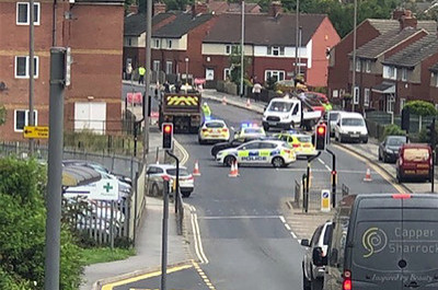 Woman hospitalised following collision - Barnsley News from the Barnsley Chronicle
