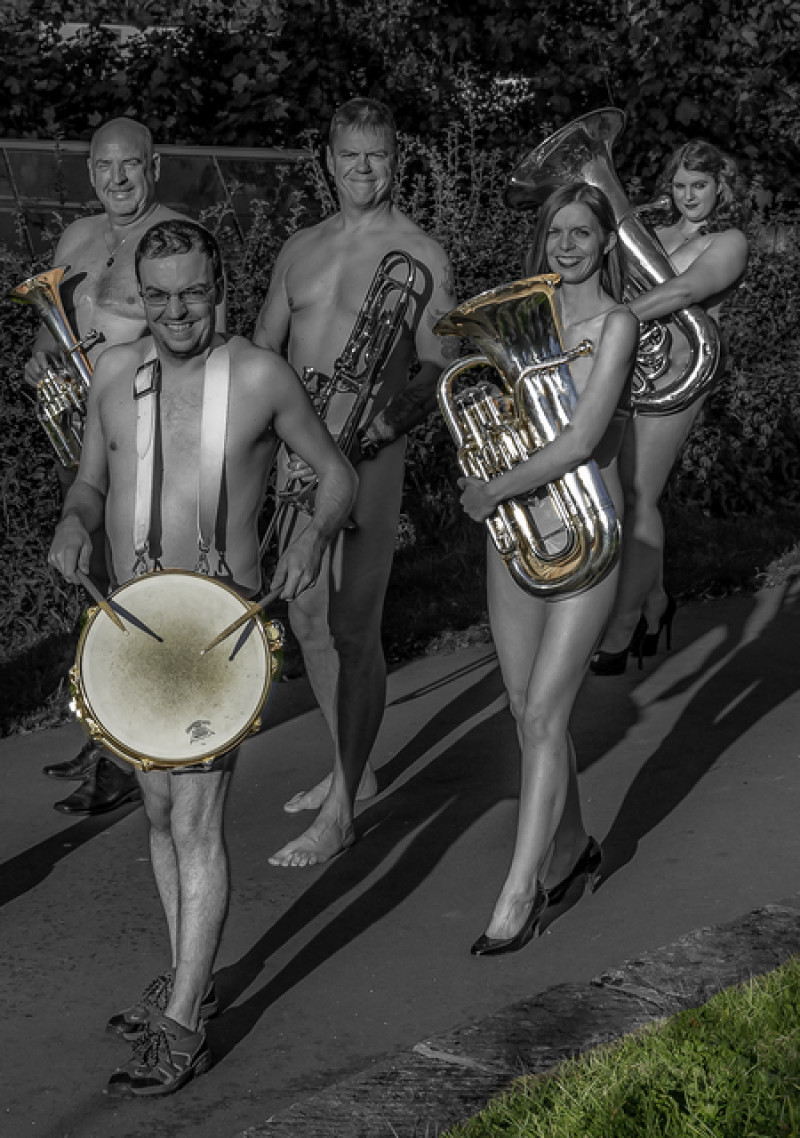 Naked marching band photos