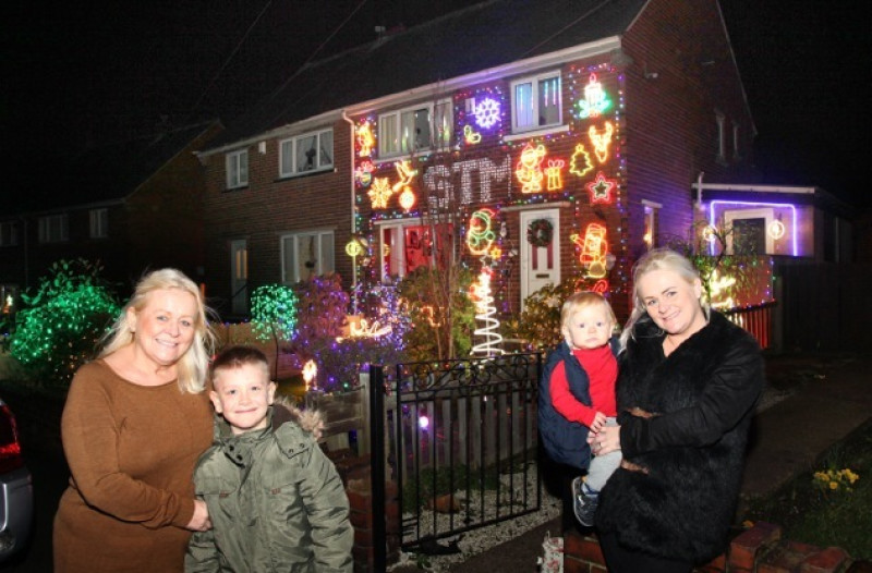 kitchin road lights illuminate again barnsley news from the