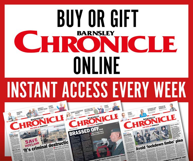 Buy or gift Barnsley Chronicle - Online - Instant access every week