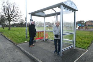 Main image for Bus shelter vandals condemned
