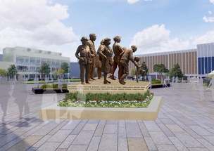 Main image for Covid memorial's foundations set to be laid
