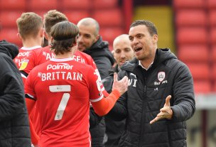 Main image for Brittain: 'There's a great feeling around Barnsley'