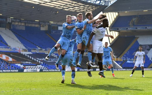 Main image for Five talking points from Coventry loss