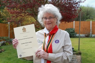 Main image for Pensioner clocks up 60 years' service