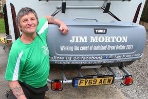 Main image for Coastal walk dream realised for Penistone's Jim