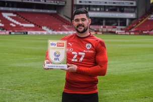 Main image for Barnsley captain named March Player of Month