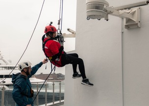 Main image for Midwife abseils for diabetes charity