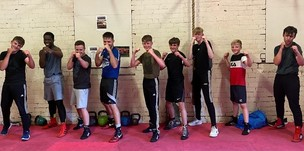 Main image for Boxing gym supporting youngsters' mental health