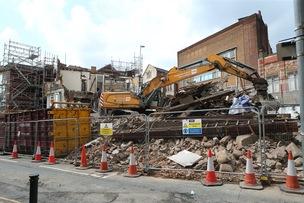 Main image for Eldon Street's revamp begins
