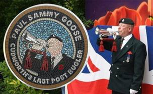Main image for Plaque to honour Cudworth bugler