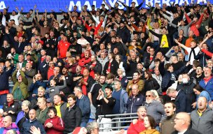 Main image for Fans 'can't wait' as Oakwell set for biggest crowd in 18 months