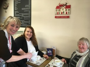 Main image for Defiant tearoom boss opens back up