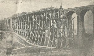 Main image for Railway viaduct builders always managed to stick to schedule