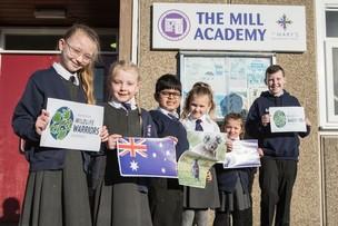 Main image for Children do their bit for Australia