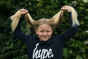 Main image for Ten-year-old follows in mother's fundraising footsteps