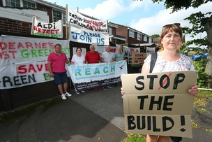 Main image for Council 'not listening' to residents