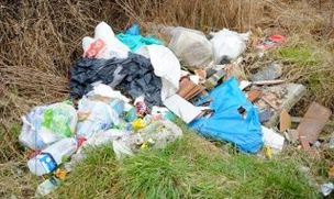 Main image for Fly-tipping clean-up rate disputed