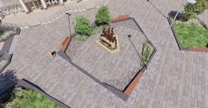 Main image for Covid memorial sculpture approved