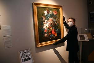 Main image for Restored artwork 'masterpiece' arrives at town centre gallery