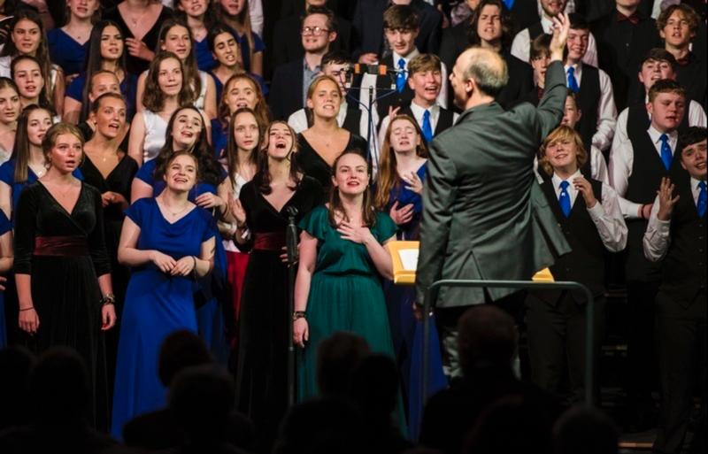 Youth choir to host international concert
