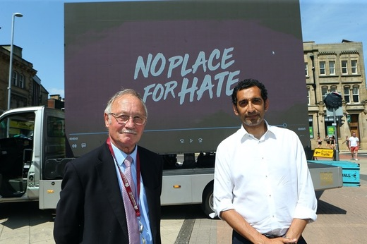 Main image for No Place For Hate launches in Barnsley