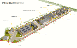 Main image for Former David Brown site plan unveiled