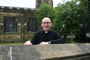 Main image for 25 not out for long-serving priest