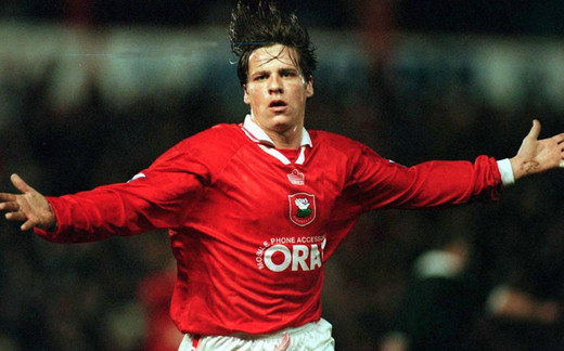 Main image for OAKWELL LEGENDS: Huddersfield goal 'perfect' but Barnard fuming he didn't get another