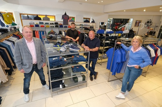 Main image for Record-breaking sales for town centre shop