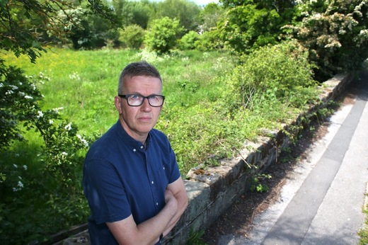 Main image for Fury over housing site's future