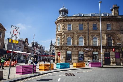 Main image for Town centre artworks cause a stir
