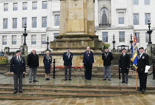 Main image for Royal British Legion's anniversary marked