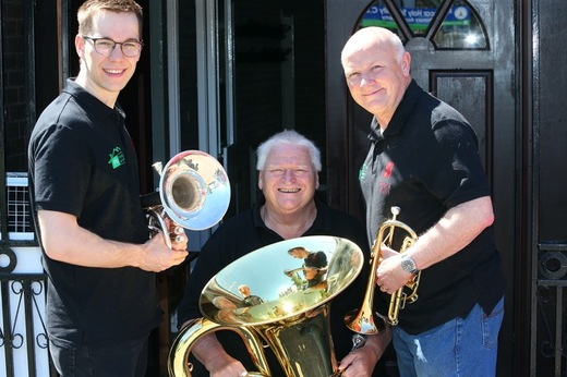 Main image for Painstaking home search ends for brass band
