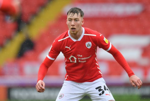 Main image for Moon 'over the moon to sign' new two-year deal with Barnsley