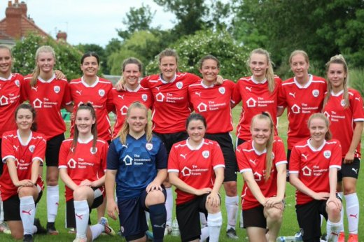 Main image for Barnsley Ladies to complete 1st season with cup final