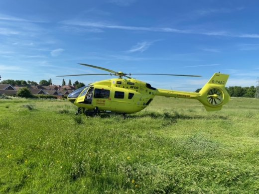 Main image for Ten-year-old boy taken to hospital after collision