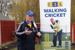 Main image for New role for walking cricket champion