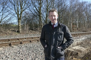Main image for Railway line's reopening moves a step closer
