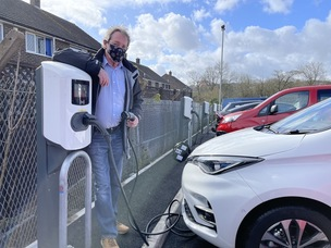 Main image for More charging points for electric vehicles
