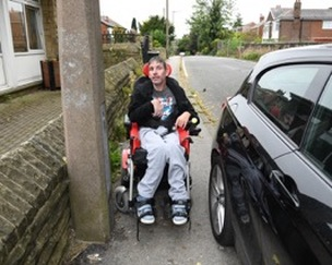 Main image for Disabled man's calls for action going unnoticed