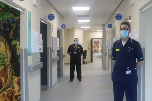 Main image for £3m kids' A and E completed