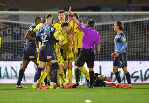 Main image for Mowatt's kitchen joy as red card is overturned