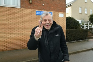 Main image for Cricket hero Dickie urges reluctant pensioners to have jab