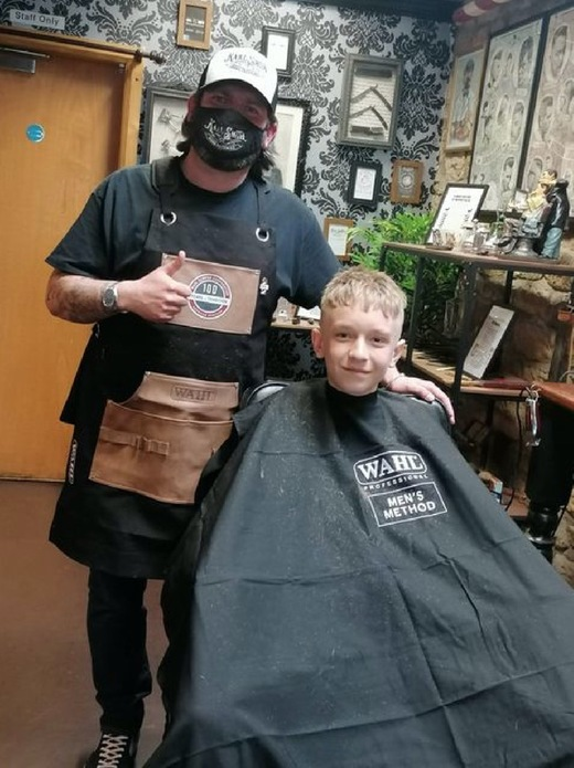 Main image for Teen raises £900 for kids' cancer charity
