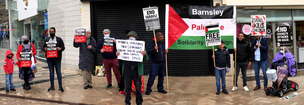 Main image for Support shown for Palestine at rally