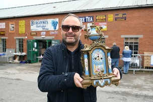 Main image for Antiques expert's a familiar face on TV...
