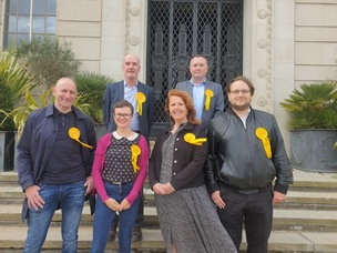 Main image for Local Lib Dem leader claims 'people are fed up' with Labour councillors