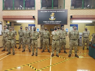 Main image for Army battalion urges people to join its ranks