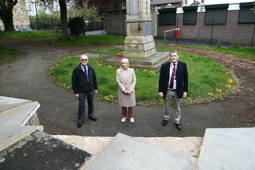 Main image for Vandalism-hit war memorial could be locked up